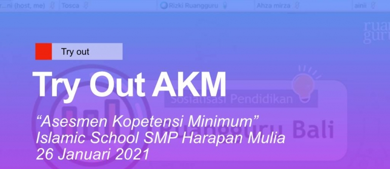 Try Out AKM