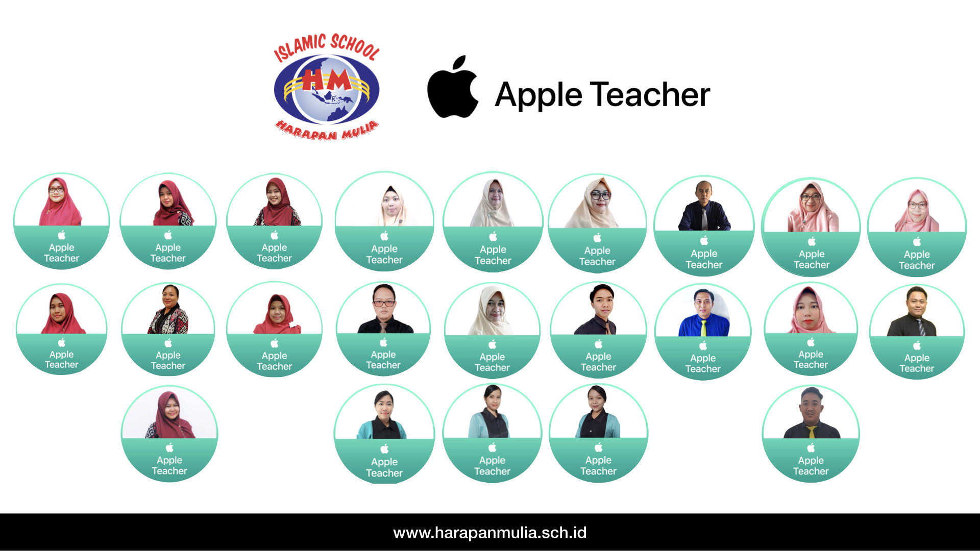 Apple teacher 2021 Islamic School Harapan mulia
