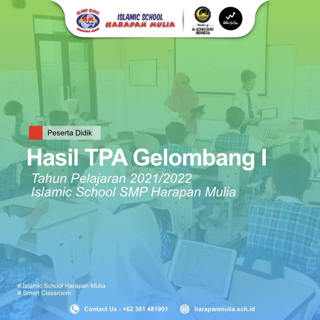 TPA Gelombang I – SMP