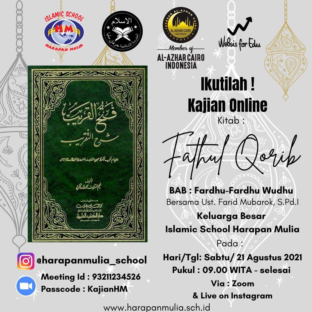 Kajian Online Islamic School Harapan Mulia