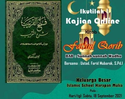Sunnah Wudhu – Kitab Fathul Qorib