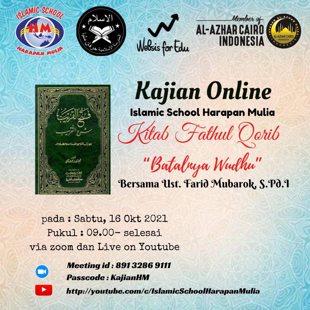 Event Kajian Online 16 Oktober 2021